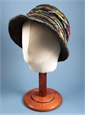 Ladies Herringbone and Tartan Hat