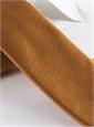 Mogador Silk Solid Signature Tie in Saffron