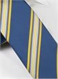 Mogador Striped Tie in Royal