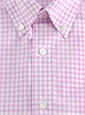 Boys Shirt Lilac/White Gingham Buttondown