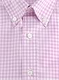 Boys Shirt Lilac/White Gingham Buttondown
