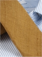 Shantung Silk Solid Tie in Cinnamon