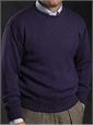 Alpaca and Silk Crewneck Sweater