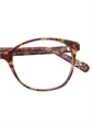 Lafont Arched Semi-Square Frames in Plum and Gold