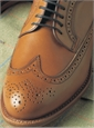 The Norwalk Blucher in Whiskey Leather
