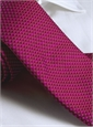 Basketweave Tie in Pink, Red & Marine