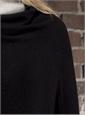 Ladies Cashmere Poncho in Black