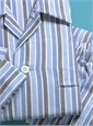 Brushed Cotton Multi-Striped Pajamas