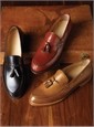 The Greensboro Tassel Loafer in Whiskey