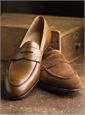 The Rosebery Loafer in Tobacco Suede