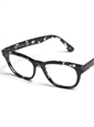 Large Square Frame in Black and Blue Tortoise