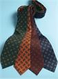Silk Paisley Printed Tie in Tangerine