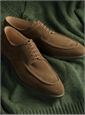 The Hardwick Blucher in Snuff Suede
