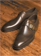 The Savile Monk Strap in Dark Brown
