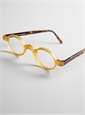 Honey Archival Round Frame with Tortoise Temples