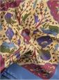Ladies Silk Animal Printed Scarf
