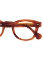 Bold Semi-Square Frame in Amber