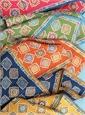Silk Medallion Motif Pocket Squares