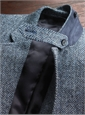 Harris Tweed Blue Melange Jacket