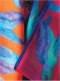 Cotton and Silk Turtle Motif Pocket Squares