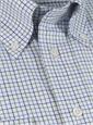 Green and Blue Tattersall Button Down