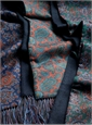 Silk/Cashmere Paisley Scarves