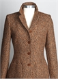 Ladies Tweed Jacket in Orange