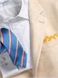 Beige on Cream Glen Plaid Cashmere Sport Coat