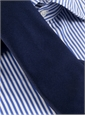 Silk Solid Signature Tie in Navy