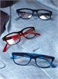 Lafont Rectangular Frame in Blue with Teal
