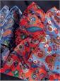 Silk Floral and Paisley Printed Pocket Squares