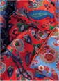 Silk Floral and Paisley Printed Pocket Squares