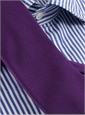 Silk Solid Signature Tie in Petunia