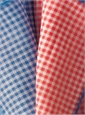 Cotton and Cashmere Gingham Pocket Squares