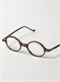 Lafont Small Round Frame in Eggplant