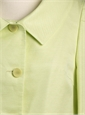 Short Jacket Soft Point Collar Lime