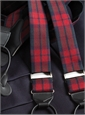 Wool Red Watch Tartan Braces