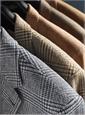 Midnight Blue Glen Plaid Wool Sport Coat with Blue Windowpane