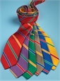 Silk Multi-Stripe Tie in Sun