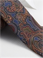 Silk Print Paisley Tie in Persian