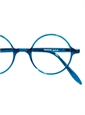 Silver Line Round Frame in Blue
