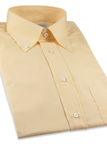 Yellow Oxford Button Down