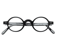 Archival Round Frame in Black