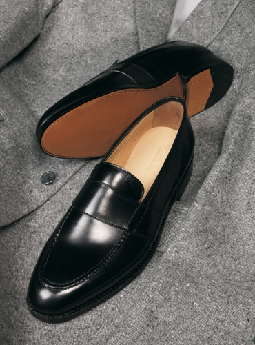 The Wellington Loafer in Black