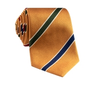 Mogador Striped Tie in Copper