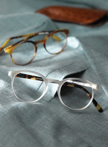 Silver Line Classic P3 Frame in Matte Grey and Tortoise