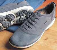 The Geox Performance Sneaker in Charcoal