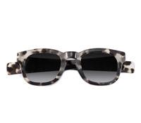 Bold Semi-Square Sunglasses in Cream Tortoise