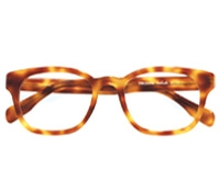 Bold Semi-Square Frame in Honey Tortoise
