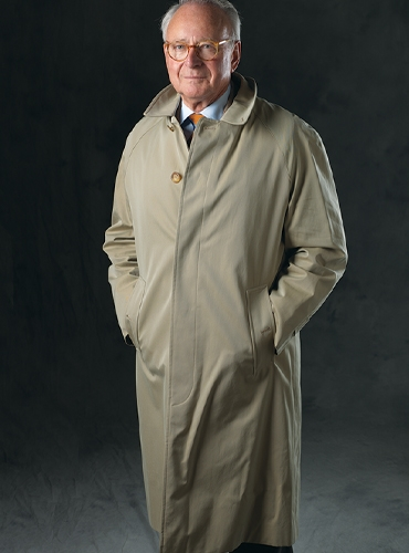 Classic English Raincoat